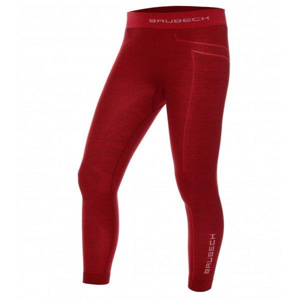 297cc745216841 ... Dziecięce spodnie termoaktywne BRUBECK Active Wool LE12130 bordo ...