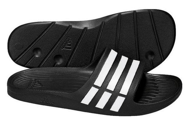 58d9342afb4e3 Klapki Adidas Duramo Slide G15890 | ON \ Obuwie \ Sandały i klapki ...