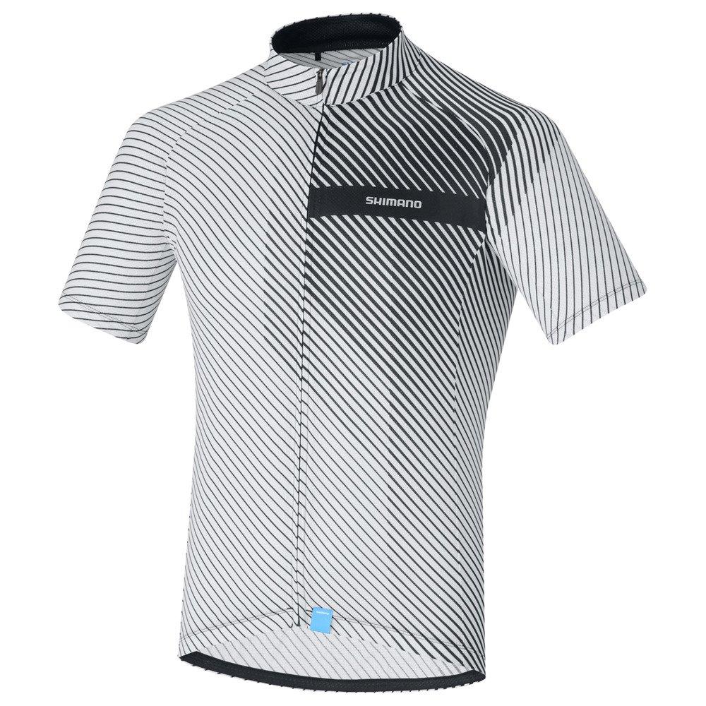 7e2f85eb2e7aae Męska koszulka rowerowa Shimano Climbers Jersey White · Męska koszulka  rowerowa Shimano Climbers Jersey White ...