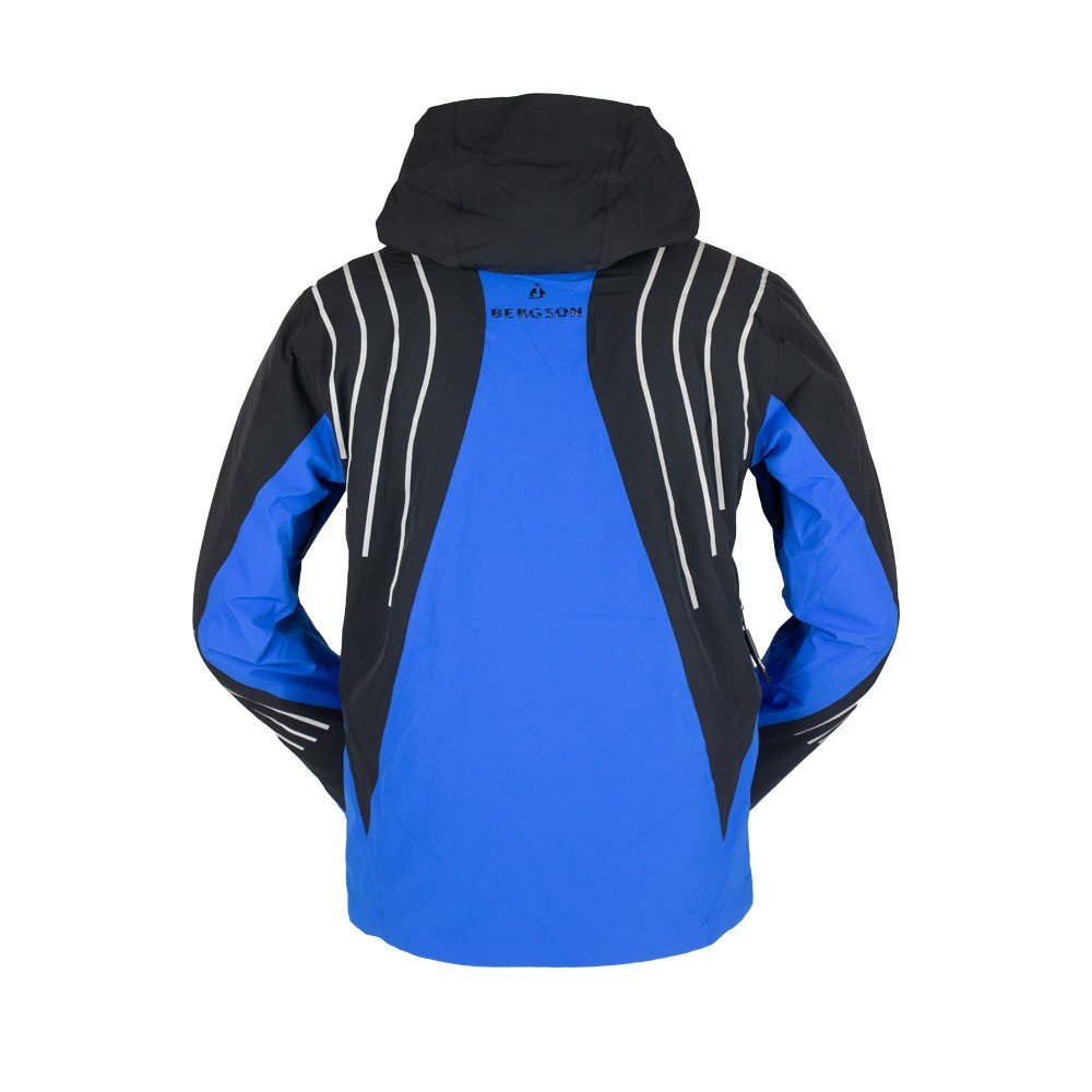 Męska kurtka narciarska BERGSON RACE X STX Blue niebieskie