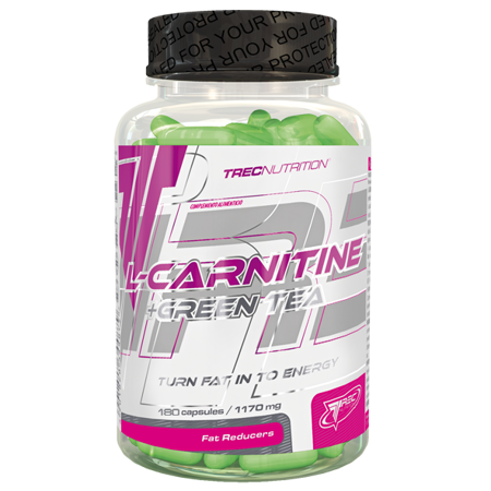 TREC L-Carnitine + Green Tea 180 kapsułek